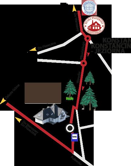 Park Chojnów - Lokalizacja