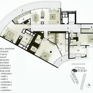 PLAN  penthouse NR 106 ASŻ