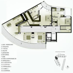 PLAN  penthouse NR 57 ASŻ